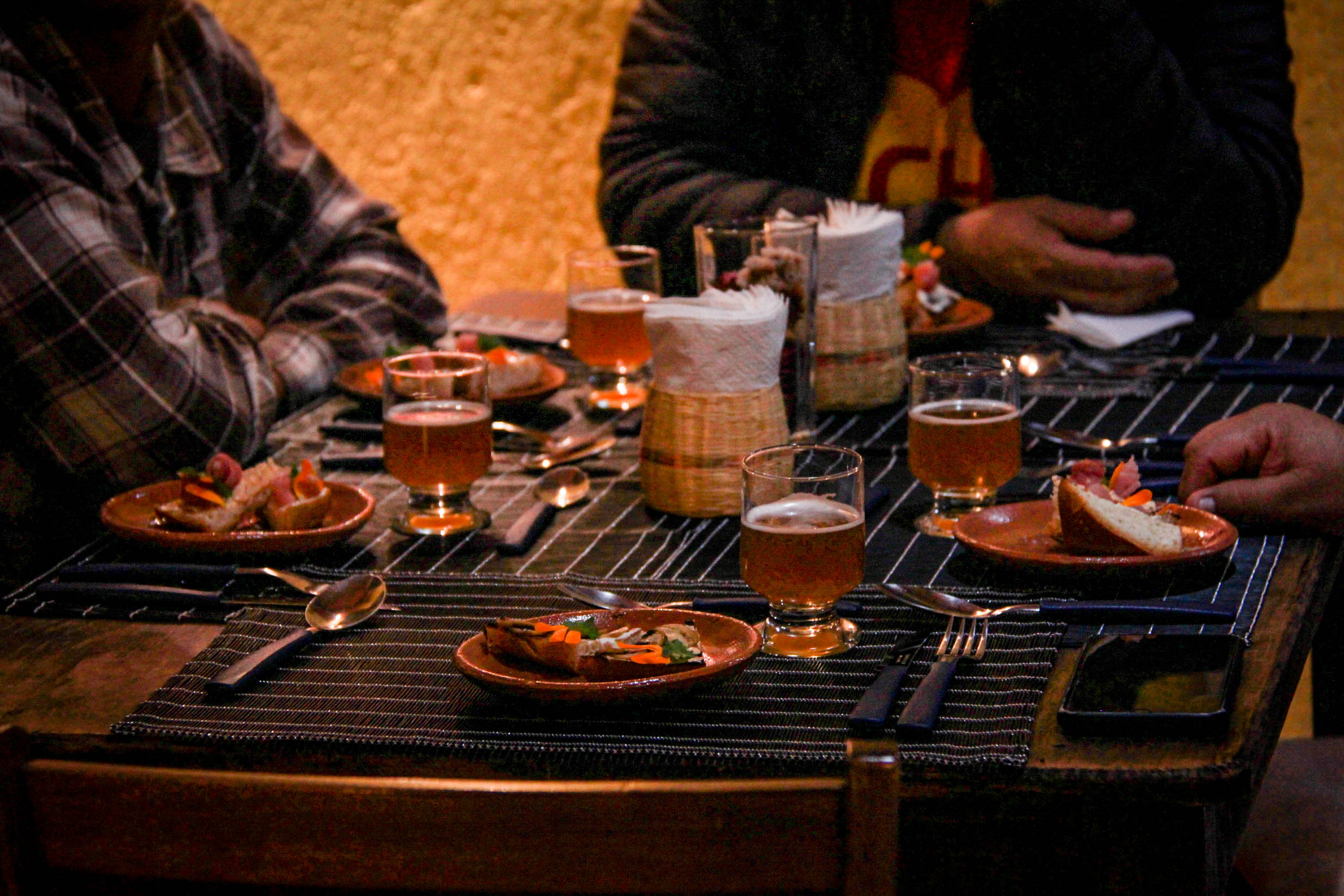 SABORES DE SAN CRISTÓBAL: Cocina abierta